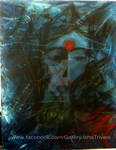 Lady in Blue - Painted by Isha Trivedi