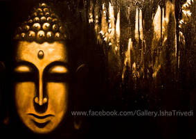 Buddha 1 - Painted by Isha Trivedi by trivediisha