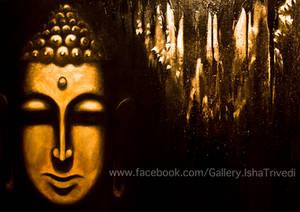 Buddha 1 - Painted by Isha Trivedi