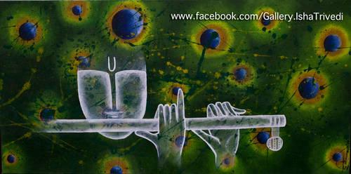 Krishna 2 - Painted by Isha Trivedi