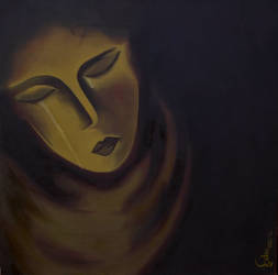 The Pain - Painted by Isha Trivedi by trivediisha