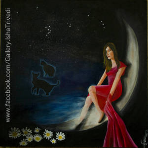 NORSE GODDESS FREYA - Painted by Isha Trivedi