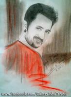 Rakesh Paul sketched by Isha Trivedi by trivediisha