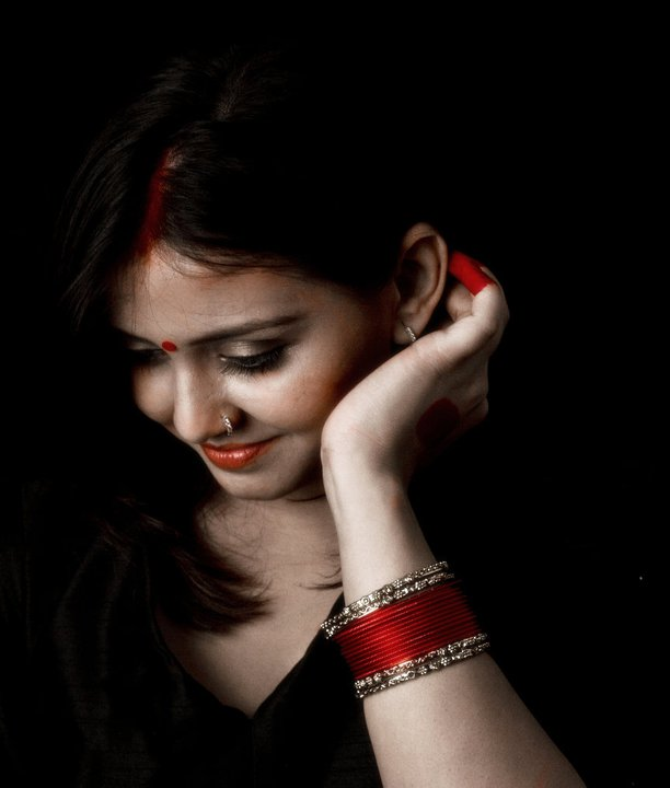 Neha Vyas INDIAN RED by trivediisha