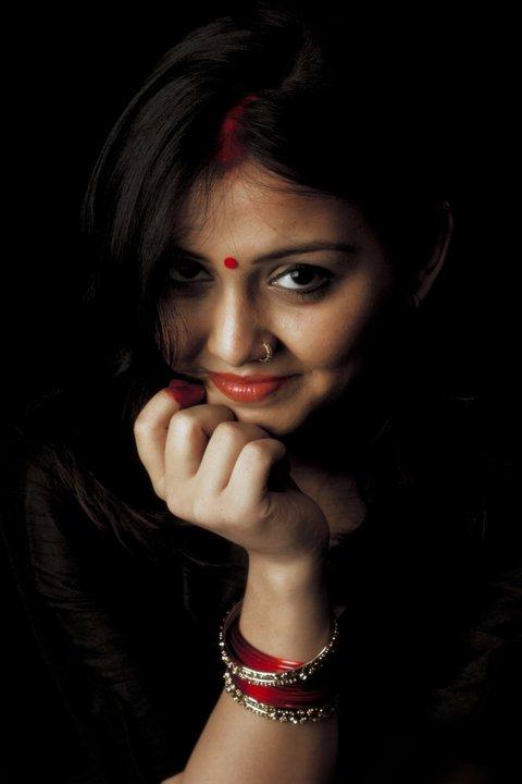 NEha Vyas INDIAN RED by trivediisha