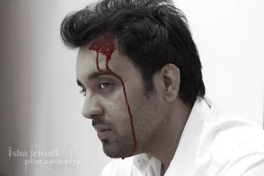 Sargam Jassu BLOOD RED by trivediisha