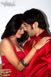 Siddharth Arora and Snehal Sin ROMANTIC RED
