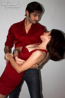 Siddharth Arora and Snehal Sin ROMANTIC RED by trivediisha