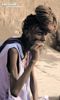 Skeleton Alive - Varanasi by trivediisha