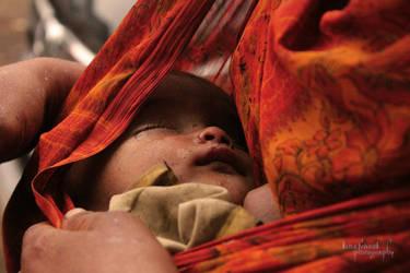 Mothers Love - Varanasi by trivediisha
