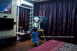 Painting BUDDHA : Isha Trivedi