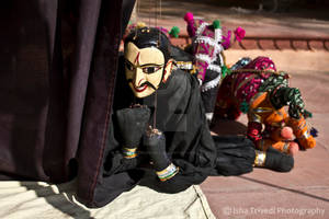 Puppets - clicked by Isha Trivedi