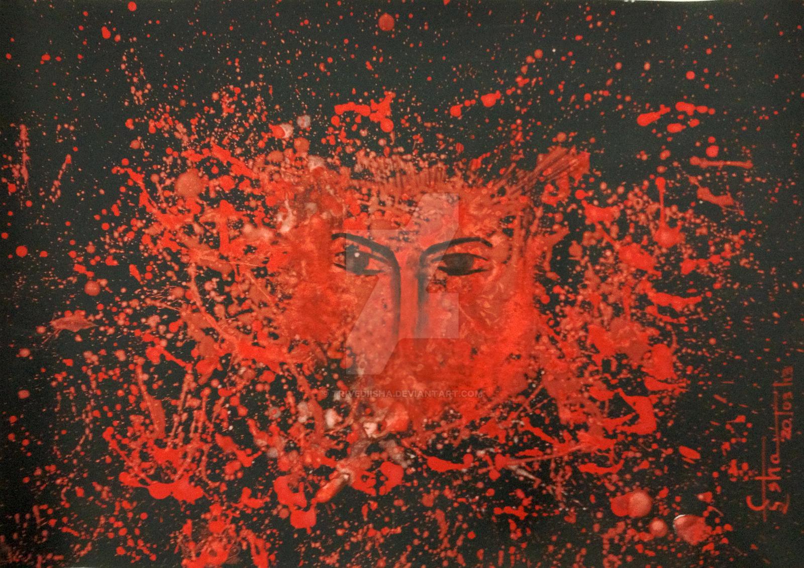 Burning Red by Isha Trivedi by trivediisha