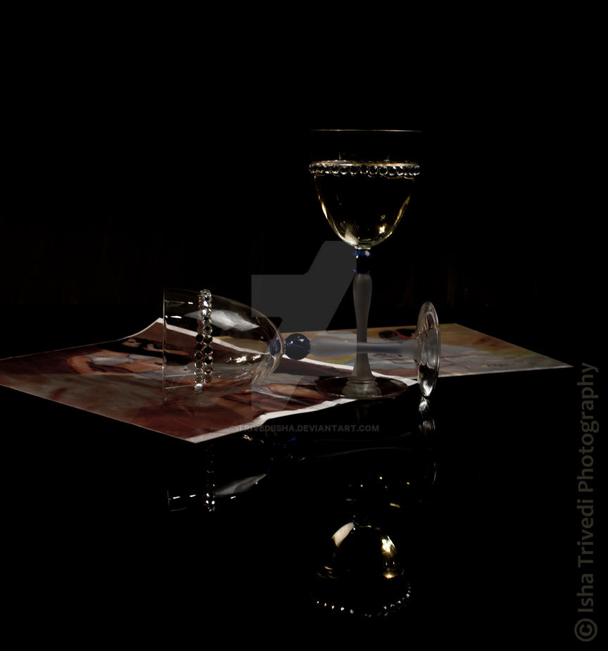 Wine Glass - Isha Trivedi Photography by trivediisha