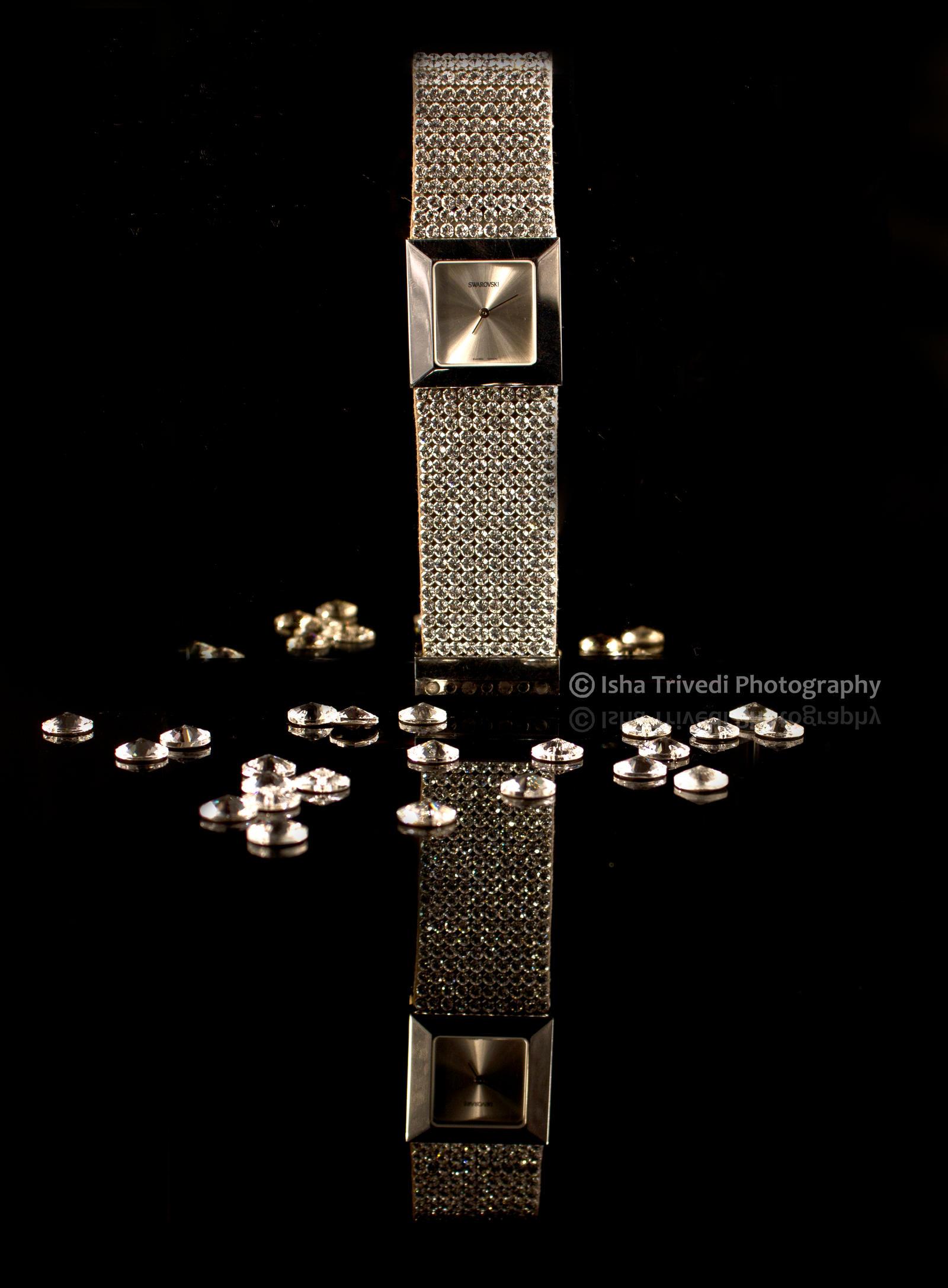 Swarovski Watch - Isha Trivedi Photography by trivediisha