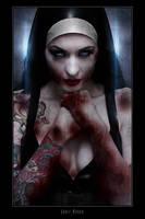 Violet Eyes - Naughty Nun 2 by jamiemahon