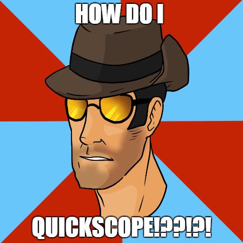 Sniper Meme by meegeeluigi