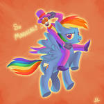 Rainbow Dash and the Warden