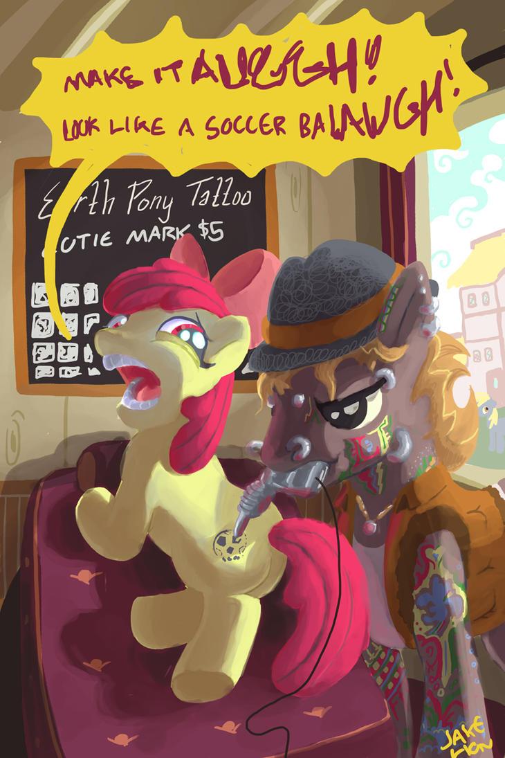 Appleblooms Cutie Mark by DocWario