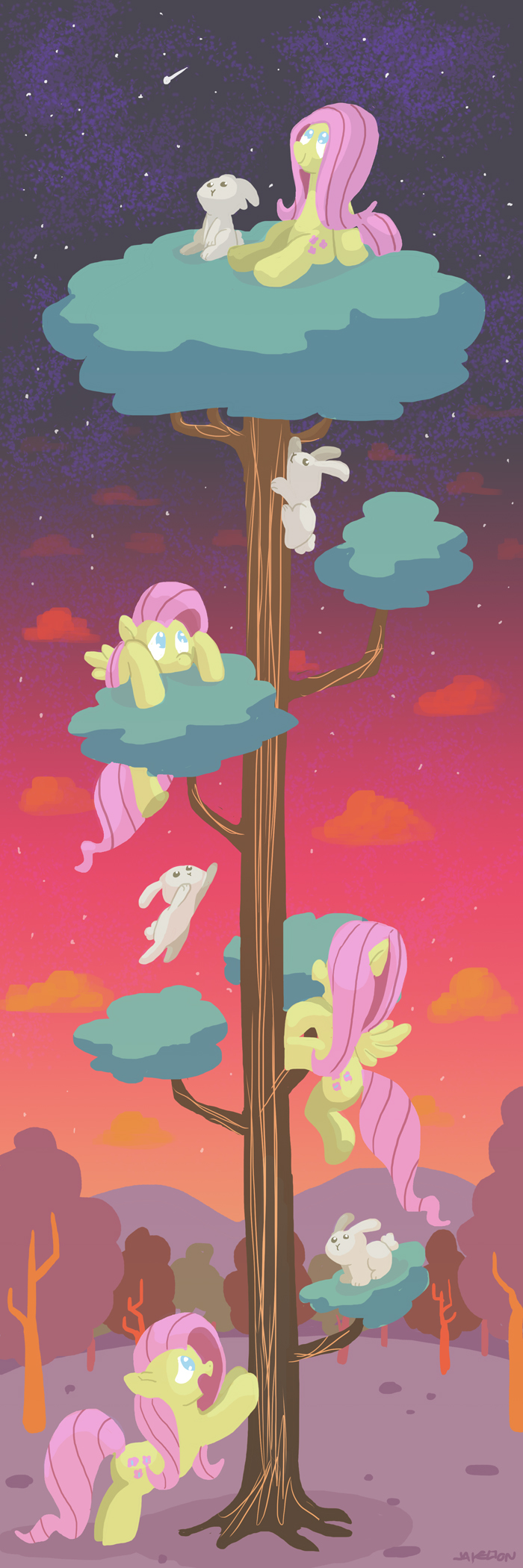 Flutterclimb Again by DocWario