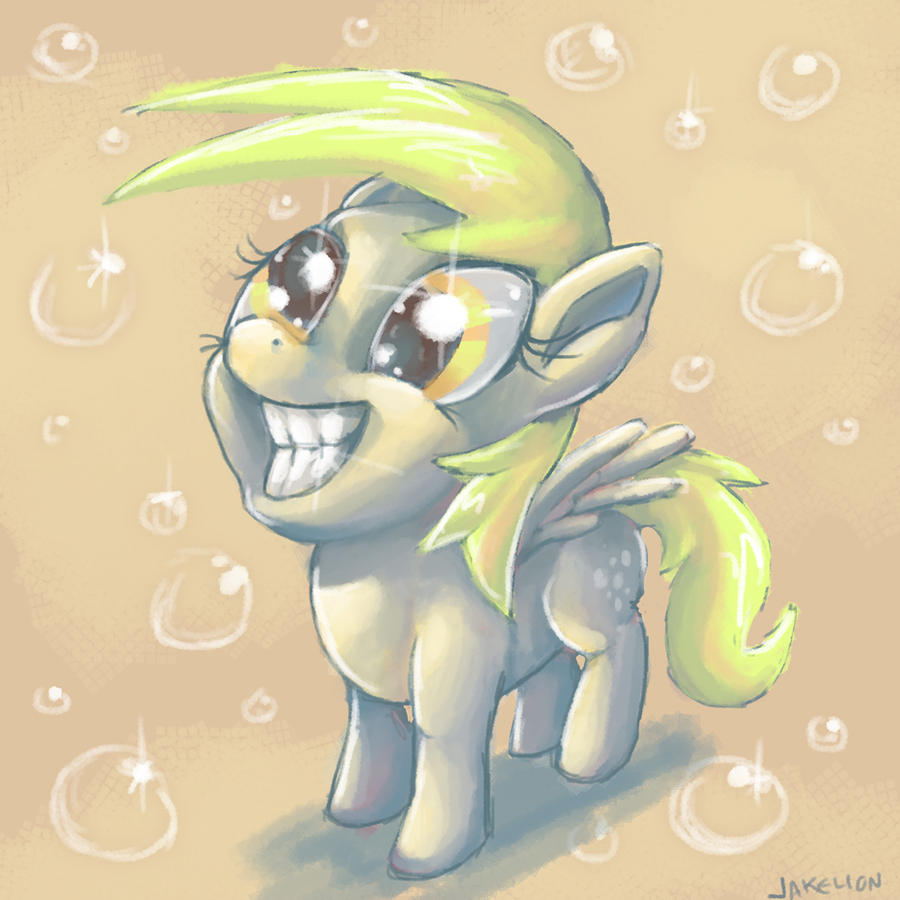 Smilin' Ditzy Derpy Doo by DocWario