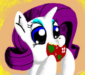 Rarity Apple Shipping Paint by DocWario