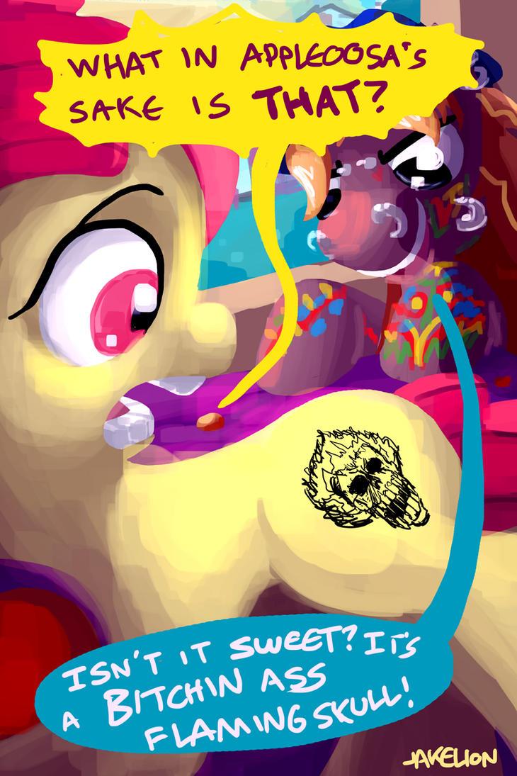 Applebloom's Cutie Mark 2 by DocWario