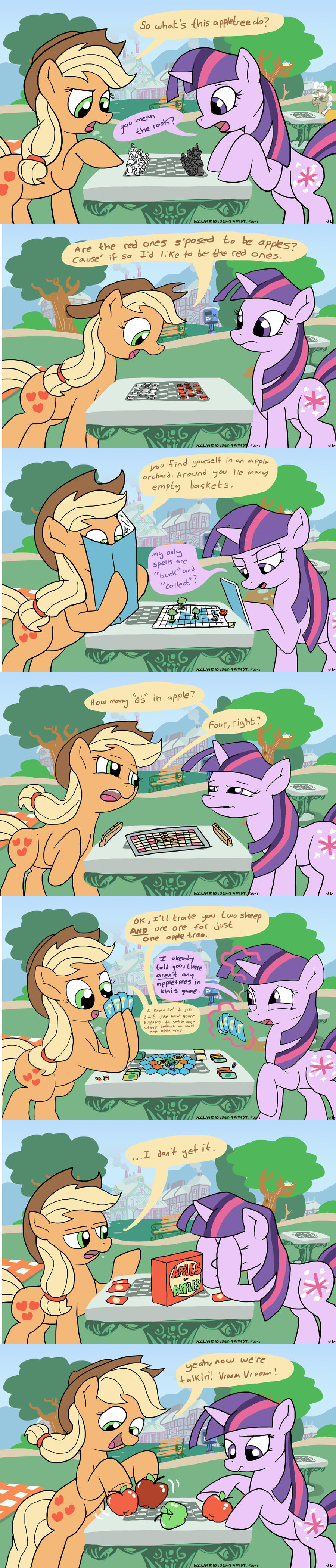 Apples on the Table by DocWario