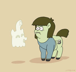 Muscle Horse and Brohoof Ghost