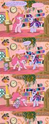 Time Travelin' Pinkie Pie by DocWario