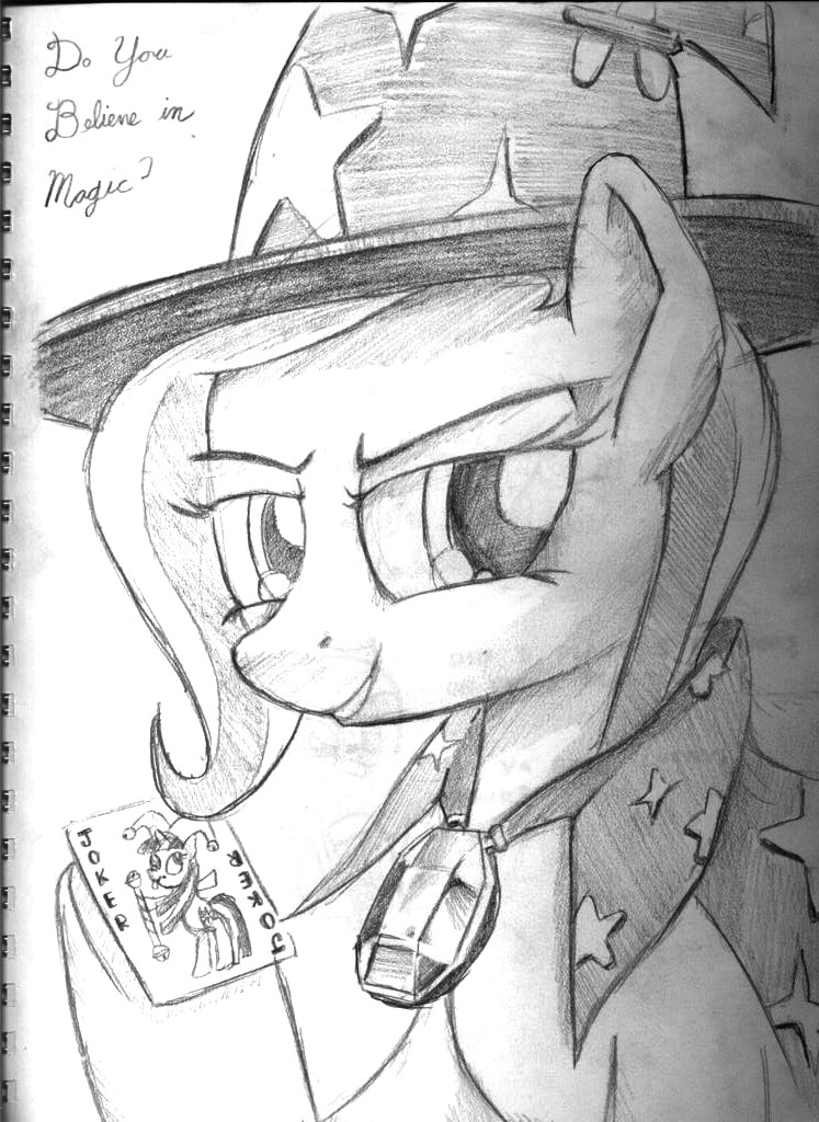 GS Sketchbook 6 - Trixie by DocWario