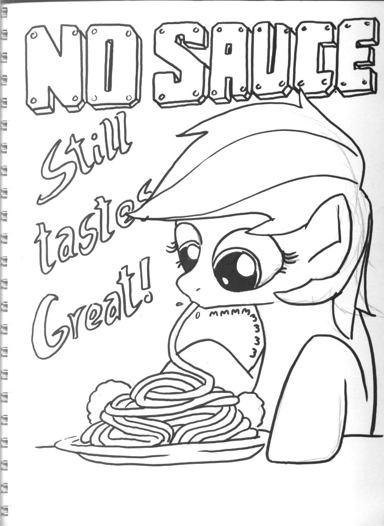 GS Sketchbook 9 - No Sauce by DocWario