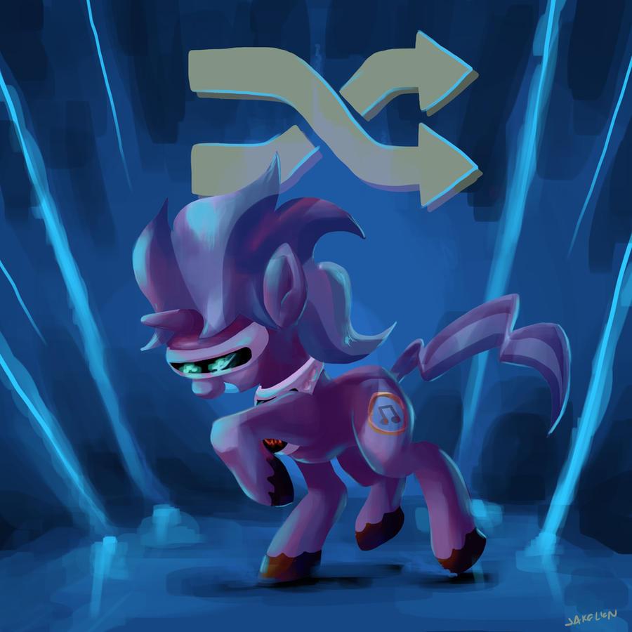 Itunes Pony Shuffle by DocWario