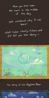The Story of the Daytime Moon