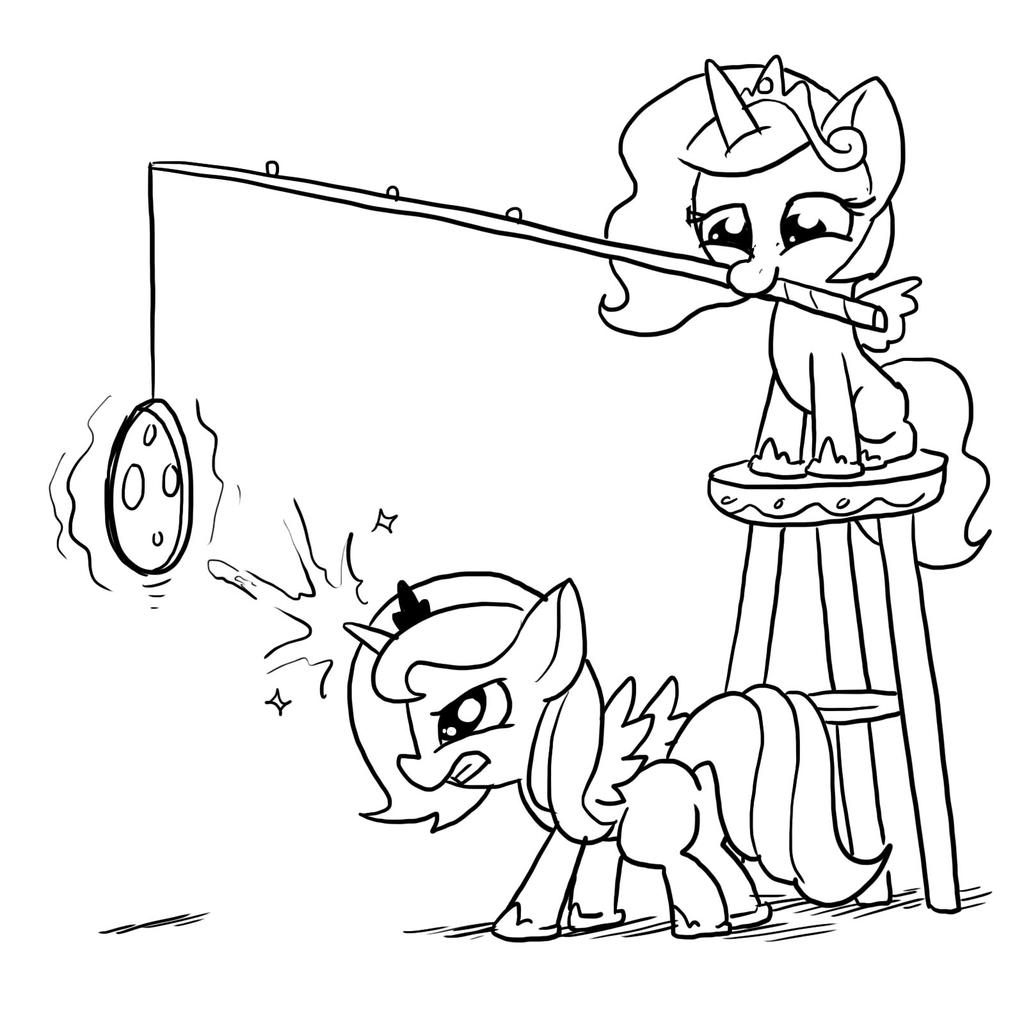Moon Raising Training by DocWario
