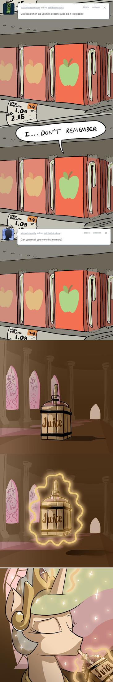 Green Apple Juicebox Memories by DocWario