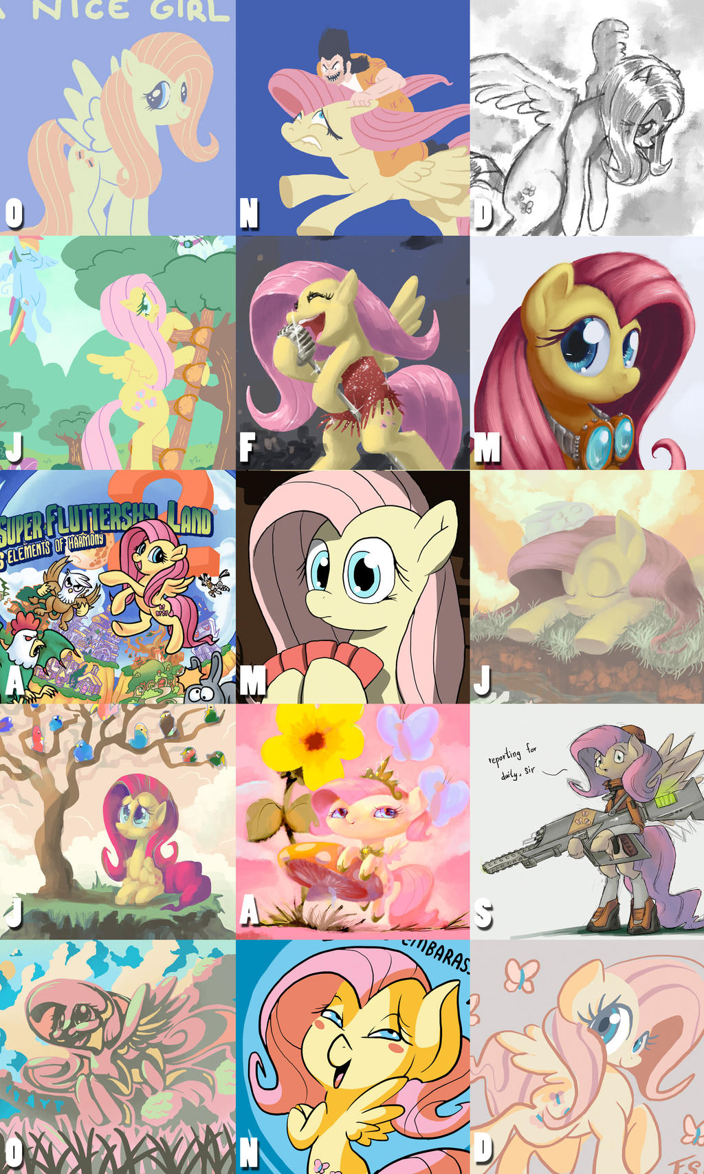 All My Fluttershy by DocWario