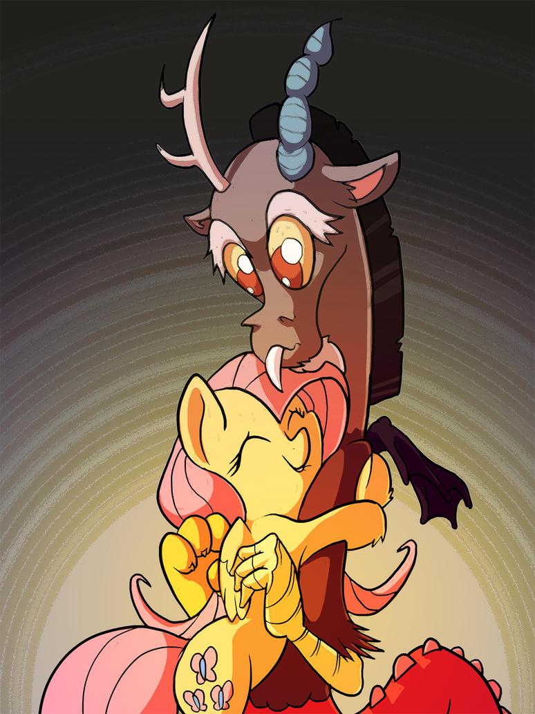 Awkward Hug by DocWario