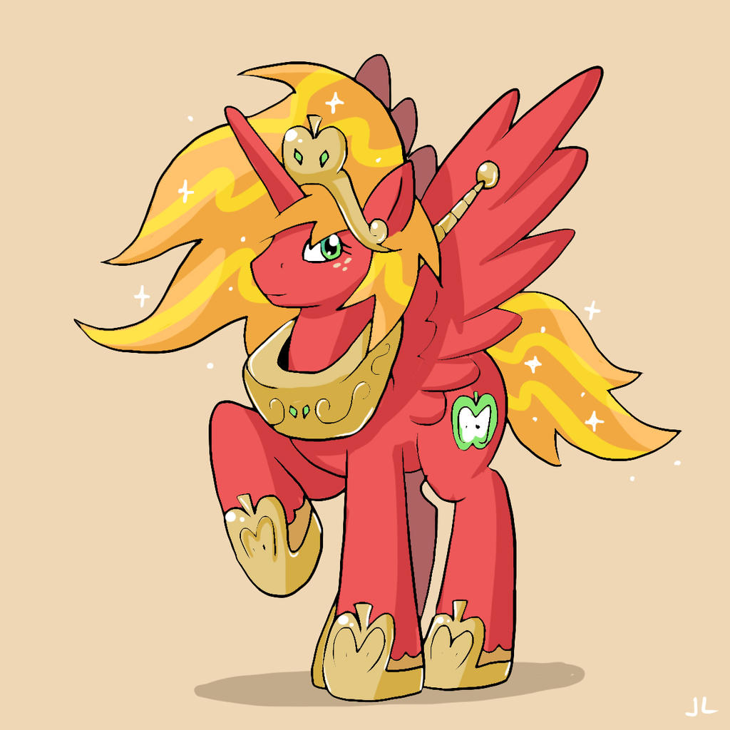 Princess Macintosh by DocWario