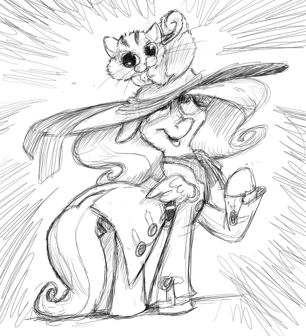 Cityshy Fashions come with Chipmunk Kittens by DocWario