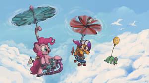 Scootaloo, Pinkie Pie Style