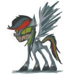 Eeevil Rainbow Dash