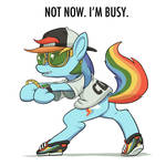 Rainbow Dash is Busy