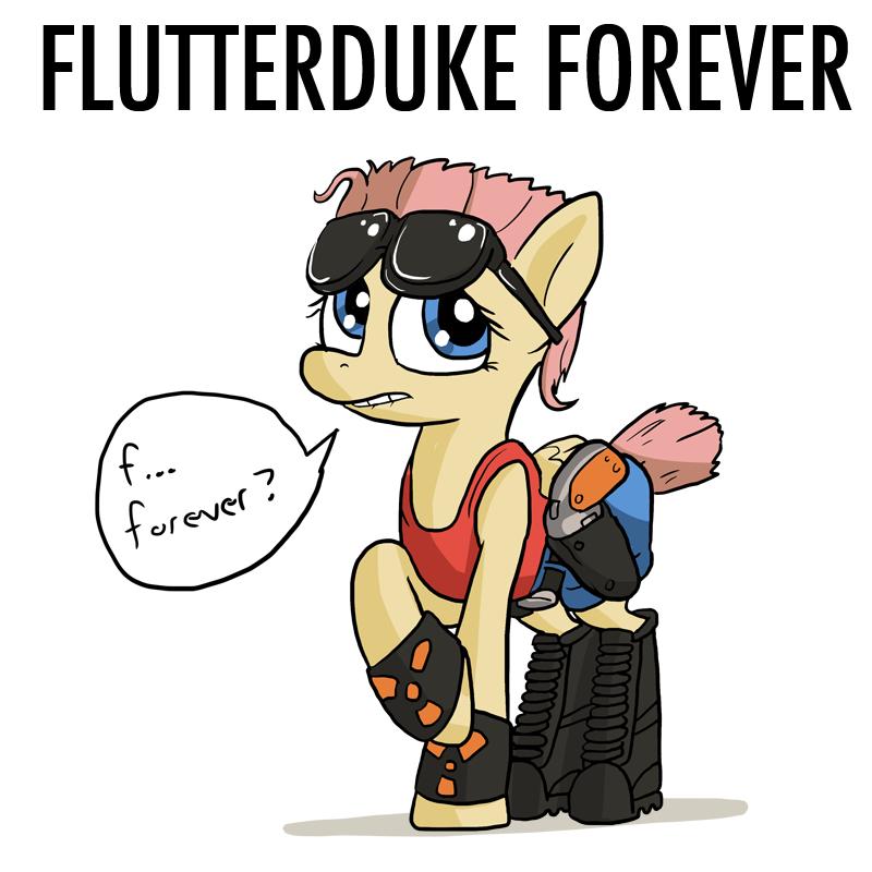 FlutterDuke Forever by DocWario