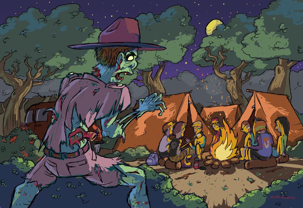 Zombie Park Ranger by DocWario