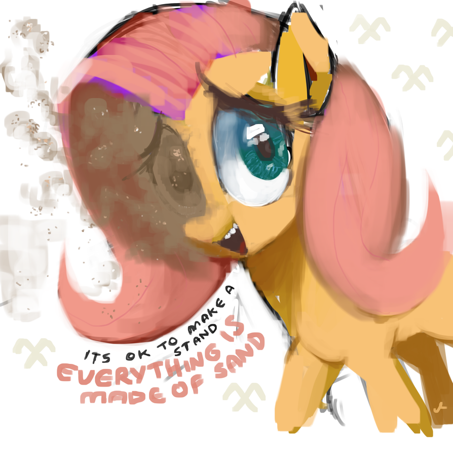 Pony art of the non diabetic variety.  - Page 26 Sand_demand_by_docwario-d9ylrls