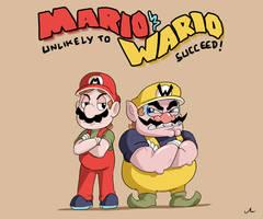 Mario and Wario - Unlikely To Succeed! by DocWario