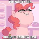 Pinkietober 25 - Hate My Pies