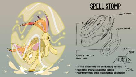 Pomme Gadget - Spell Stomp