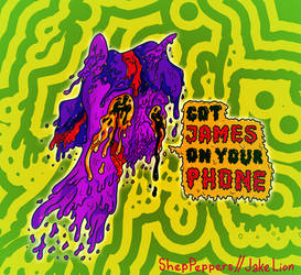 Twitober 15 - Phone James (Collab w/ ShepPeppers)